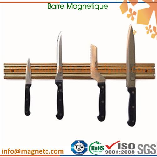 barre magn tique porte couteaux barre magn tique 2 xfmag aimants. Black Bedroom Furniture Sets. Home Design Ideas