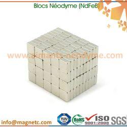 aimants néodyme blocs et carrés petit